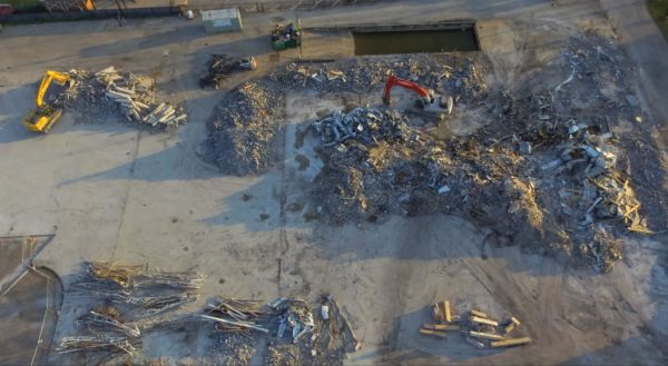 calculate cut and fill landfill cell construction