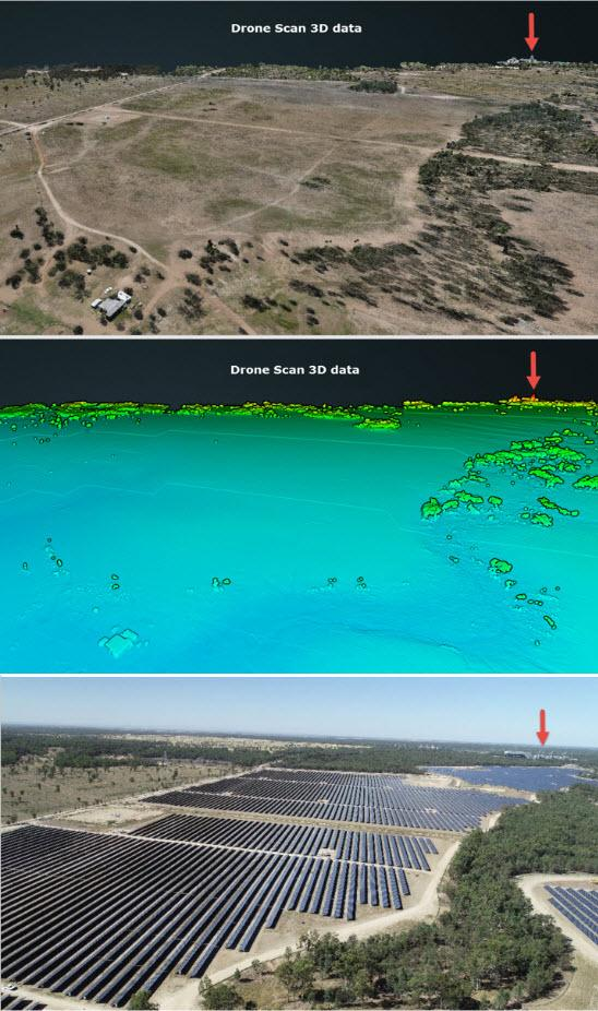 Solar farm case study lidar photogrammetry