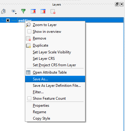 How to Convert DWG/DXF Files to KML with QGIS