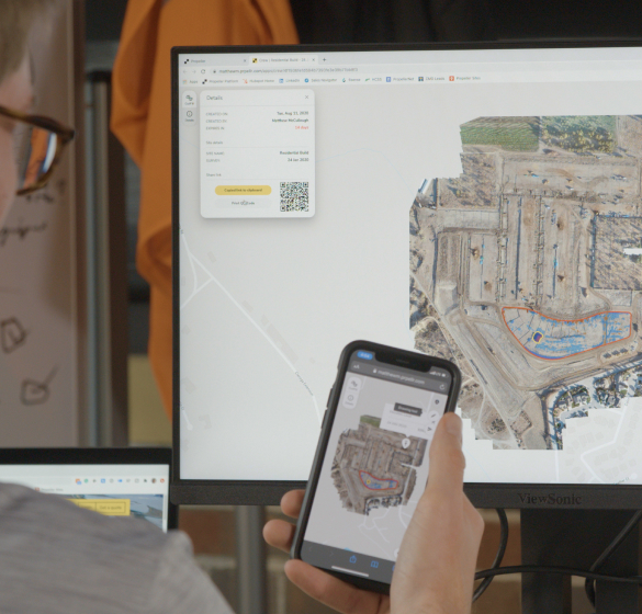 3D maps on the mobile and desktop