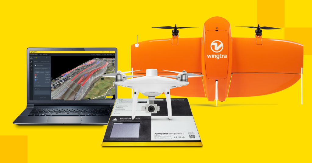 AeroPoints and Propeller PPK with supported drones